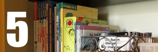 homeschool room closet kindergarten activities 5