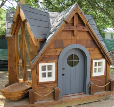 nautical wooden playhouse