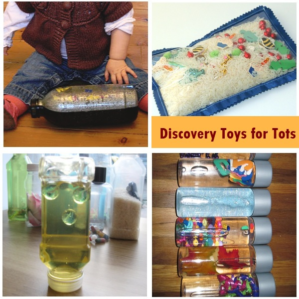 DIY Discovery Toys for Tots
