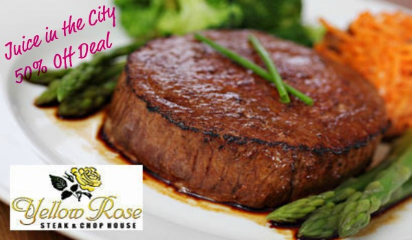 Yellow rose steak chop house 15 for 30 of food at yellow rose steak chop house in flower mound mightylinksfo