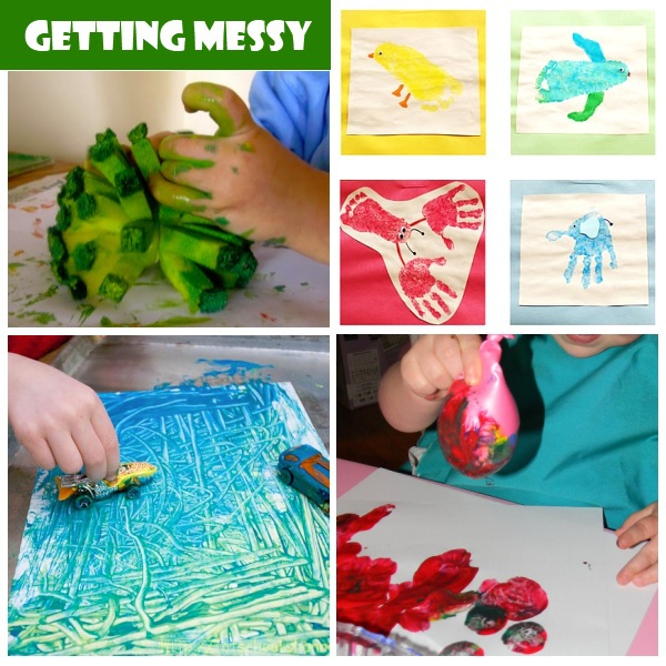 Activities for 2 year olds for Arts and crafts for a 1 year old
