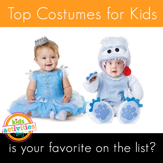 Top Kids Halloween Costumes