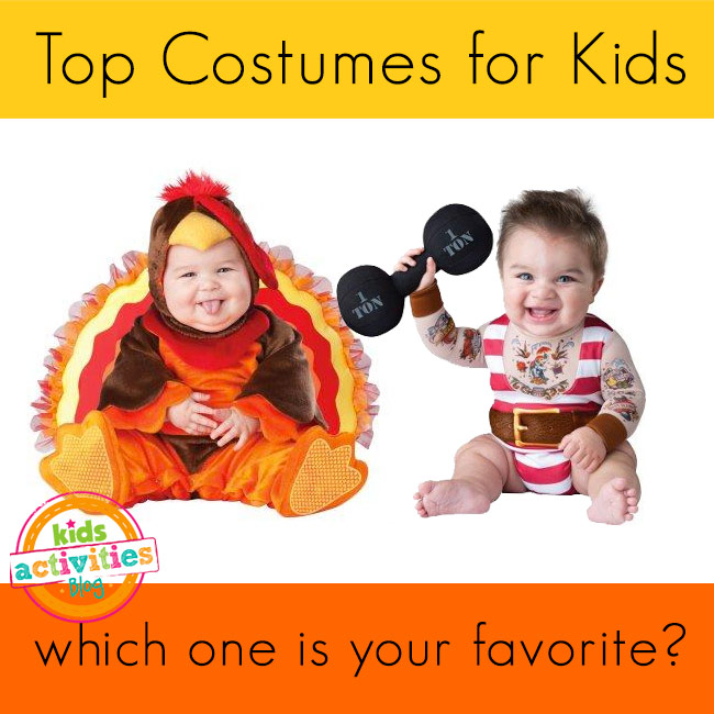 Top Kids Costumes for Halloween