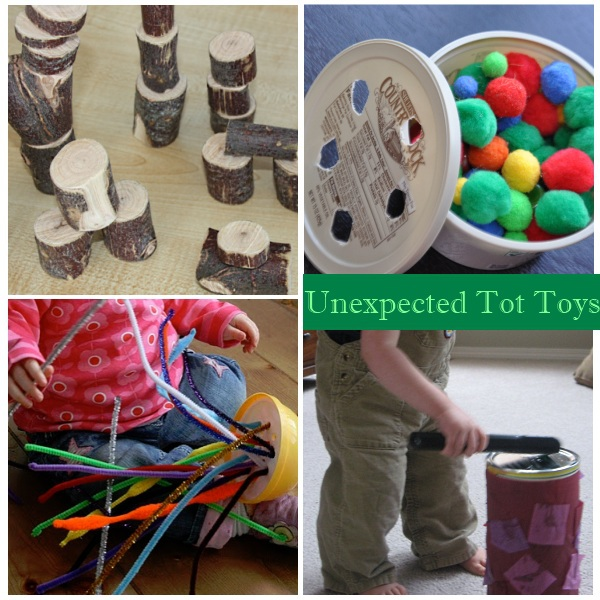 """ \"" \\""Recycled items toddler toys\\""\"""""