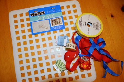 Lacing card supplies