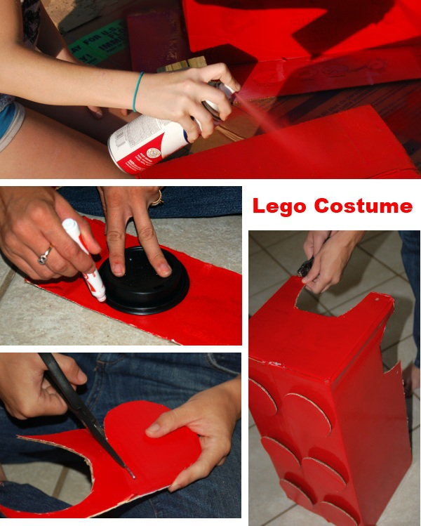 Lego Costume Tutorial