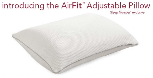 Elegant AirFit Adjustable Pillow