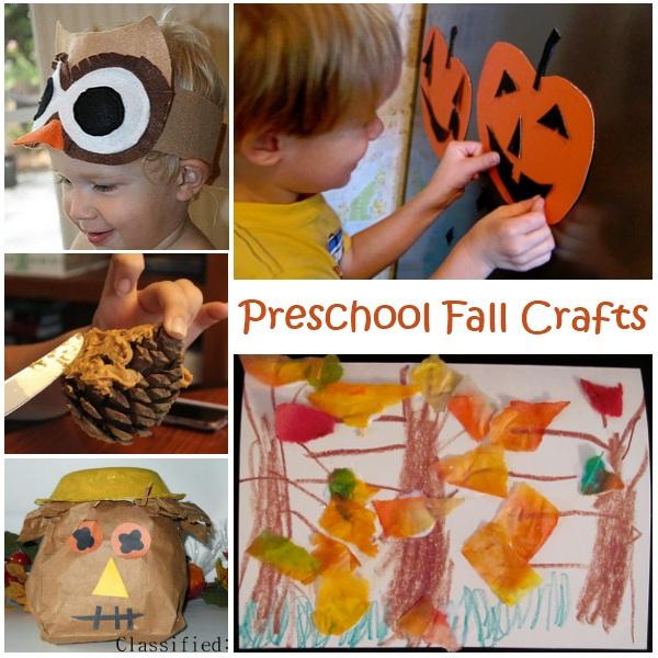 fun fall crafts for preschoolers preschool fall crafts 865