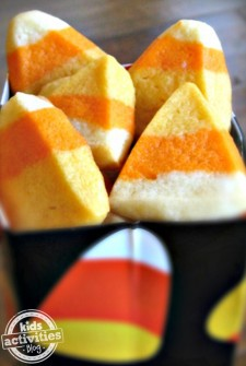 Make Candy Corn Sugar Cookies For Halloween