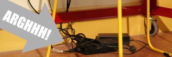 cord management problem