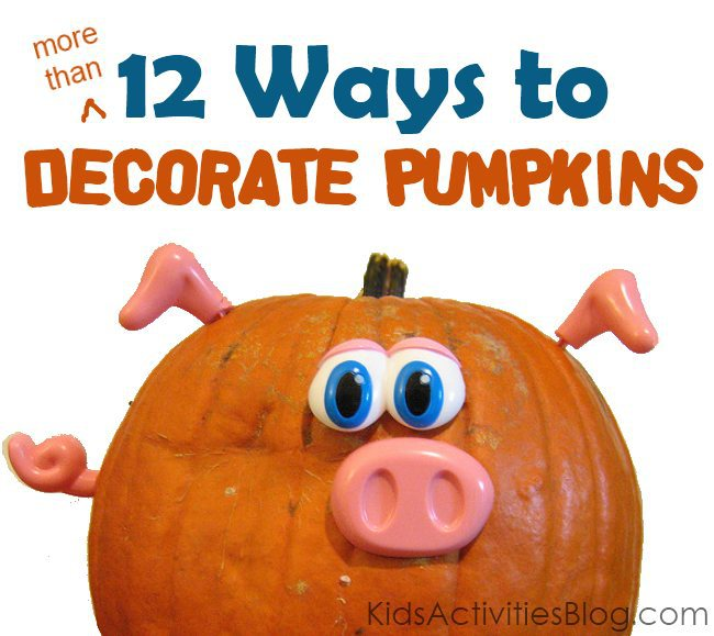 decorate pumpkin ideas