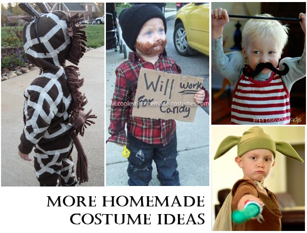 Homemade halloween costumes for Easy homemade costume ideas for kids