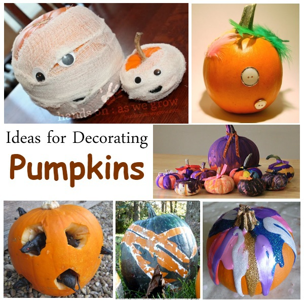 ideas for decorating pumpkins