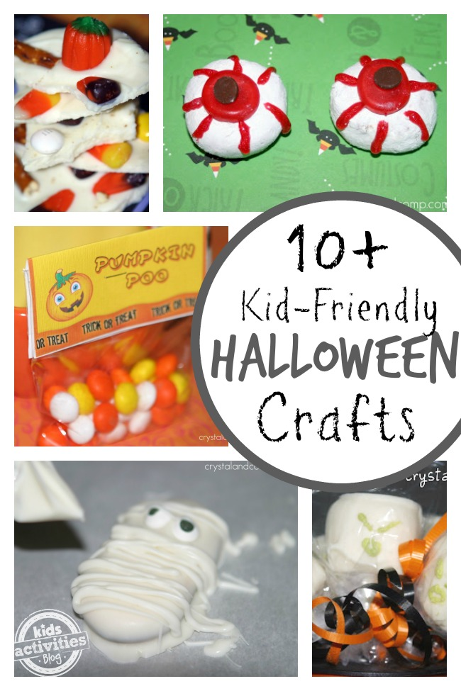 Easy {and delicious} kid-friendly crafts for Halloween - I love #6!