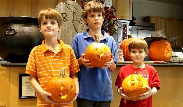 pumpkin carving kids