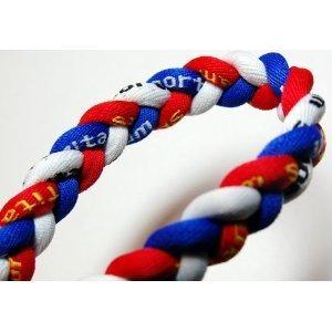 red white blue bracelet