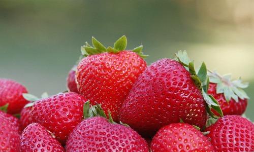 Healthy Snacks Strawberries