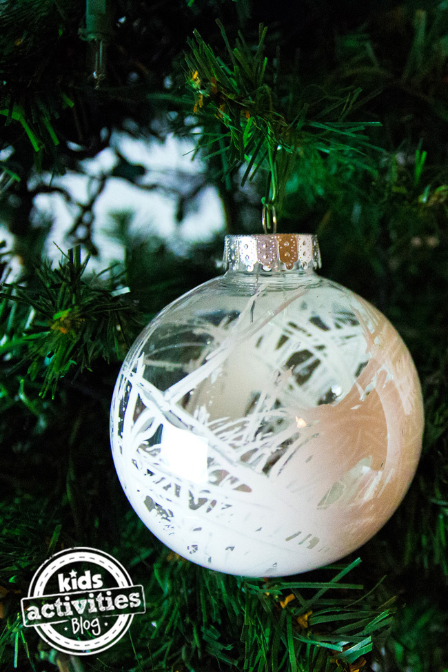Homemade Christmas Ornaments With Clear Balls Simple ...