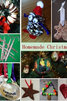 homemade ornaments collection
