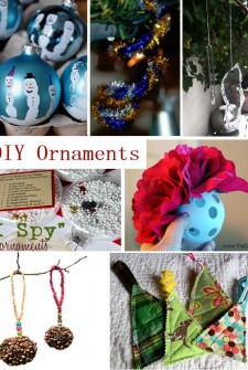 Homemade Christmas: A Massive Collection of Ornaments