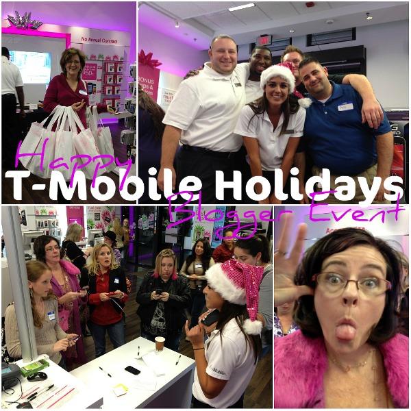 t-mobile holiday blogger event dallas