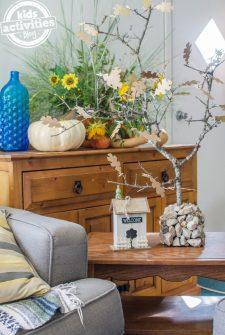 Teach Kids Gratitude: Make a Family Thanksgiving Tree!