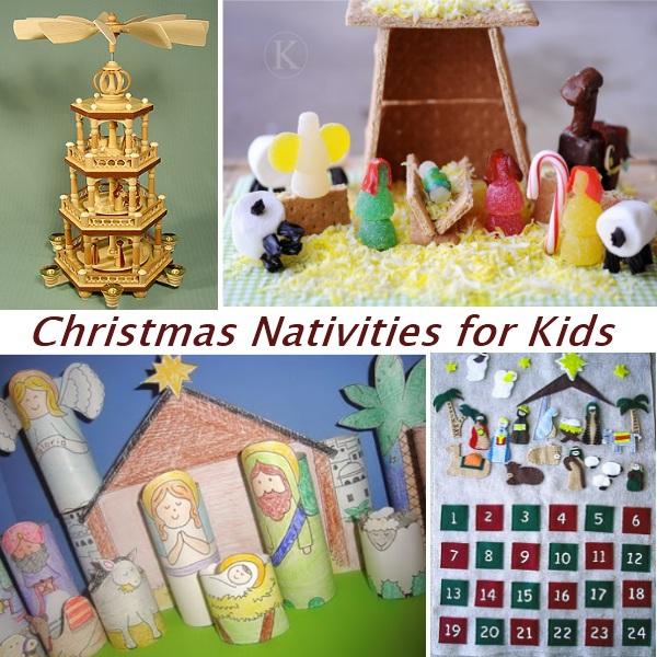 Christmas Nativity Scene Picture