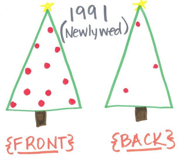 The Christmas Tree 1991.Christmas Tree Evolution