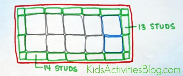 Lego Table layout