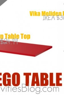 LEGO Table parts from IKEA