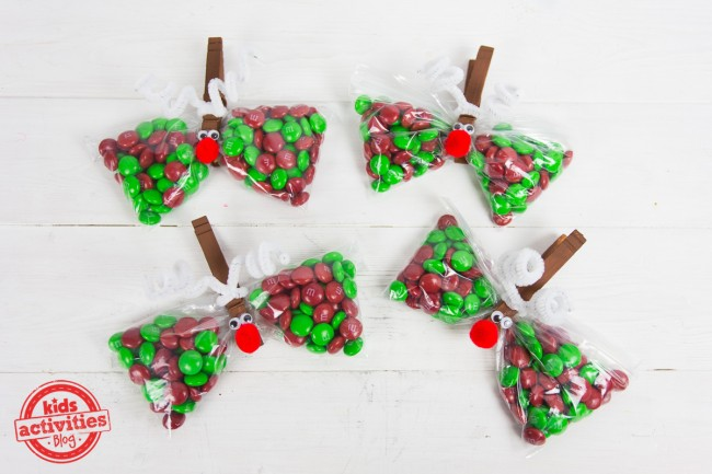 Reindeer Treat Bags To Make For This Year S Christmas Party