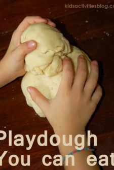 Edible Playdough: Make your own Pasta Noodles