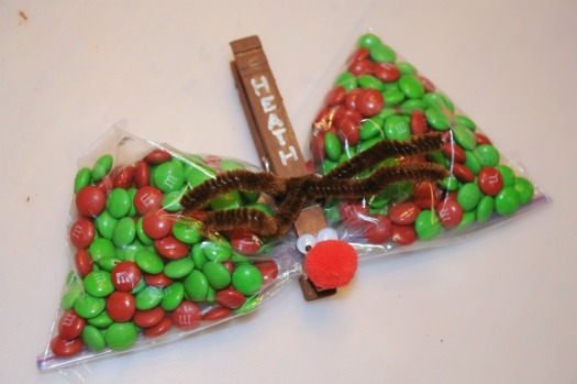 reindeer treat bag