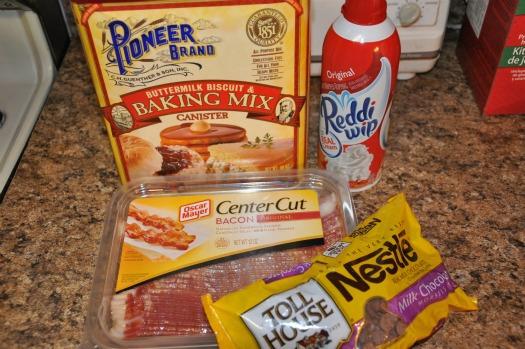 snowman pancake ingredients