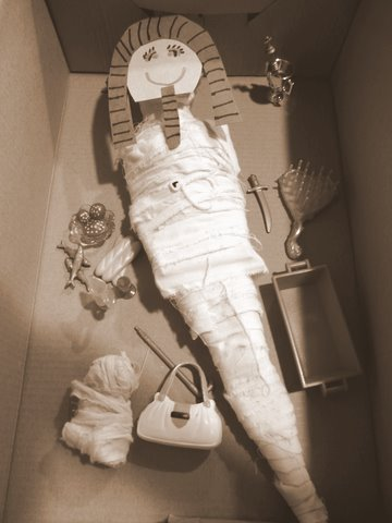 Mummify Barbie