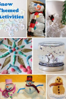 Snow Crafts: 13 Fun Winter Activities