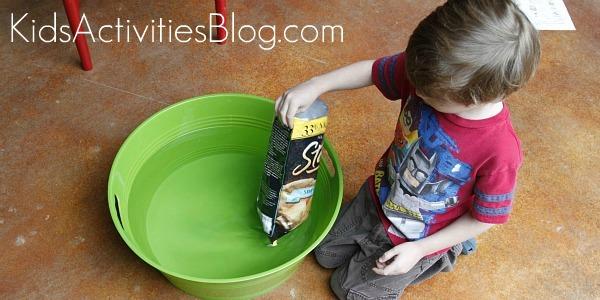 buoyancy experiment floats