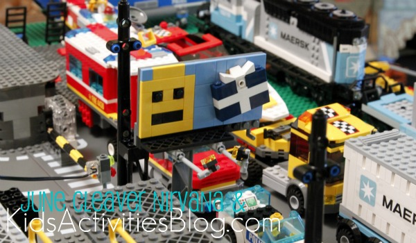 Lego traffic jam