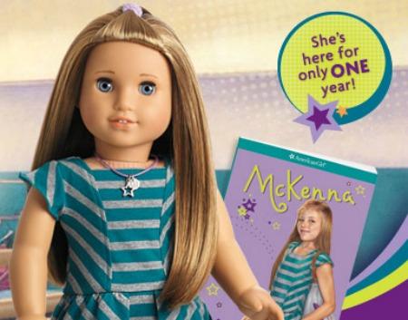 Mckenna 2012 American Girl Doll