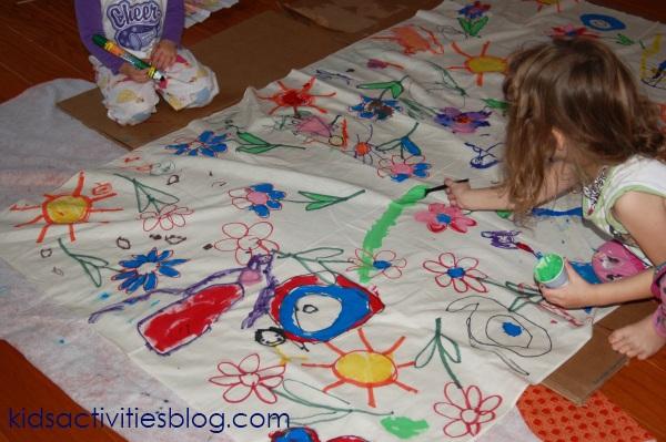napkin painting