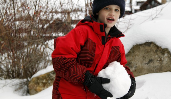 reid and a snowball