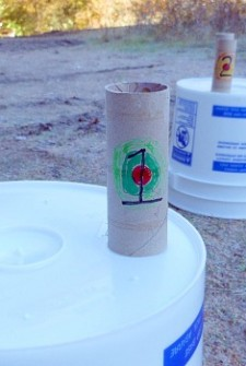 Target Practice Game {perfect for camping}