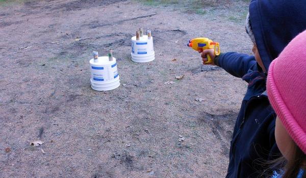 target practice game shooting