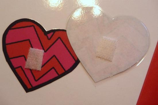 velcro hearts