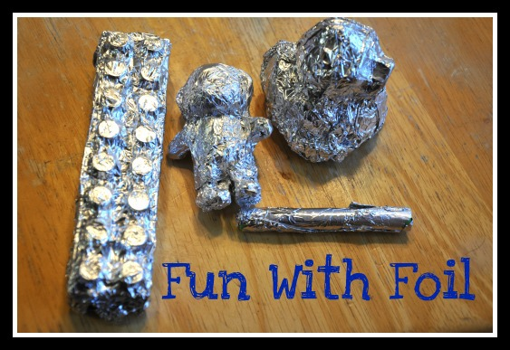 how to make a cone out of aluminum foil
