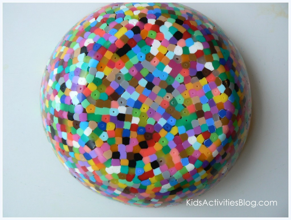 Melted bead projects to create with children for Bead craft ideas for kids