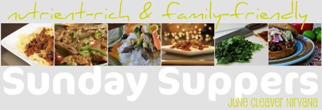 Sunday suppers title