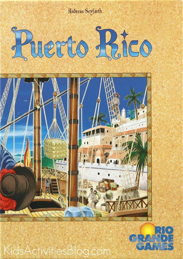 puerto rico board game box