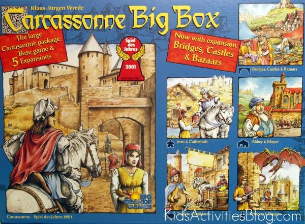carcassonne board game box