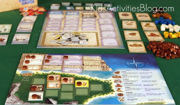 puerto rico board game board